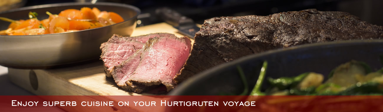 Enjoy superb cuisine on your Hurtigruten voyage